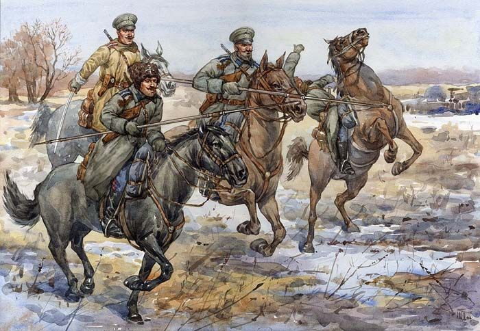 Don Cossacks WWI